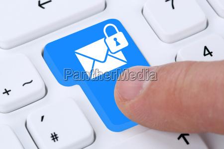 messaggio e mail crittografato inviare al