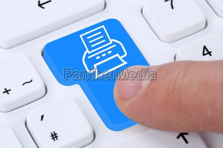 ufficio tastiera pc computer progettazione concetto
