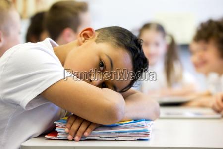 sruggling a scuola