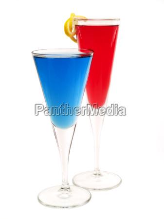 chiudere natura morta blu bicchiere oggetti