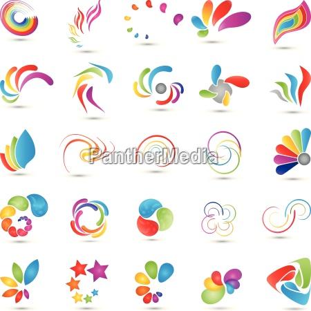 spirali di raccolta logo multimedia