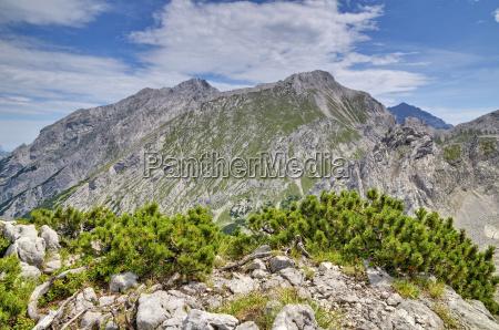 montagne vertice estate picco vetta