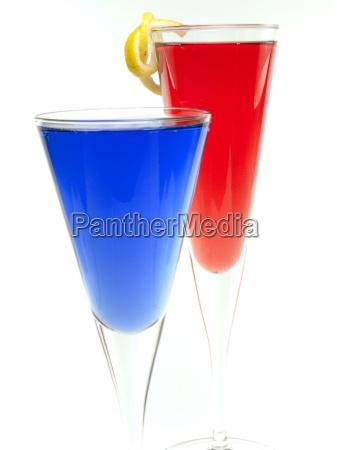 blu bicchiere bevande bere rilasciato primo
