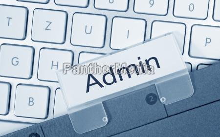 admin cartella di amministrazione