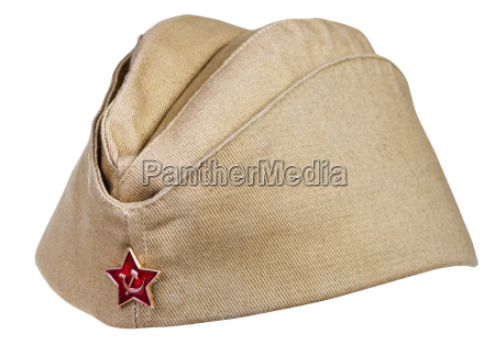 rilasciato simbolico verde marrone cappello esercito