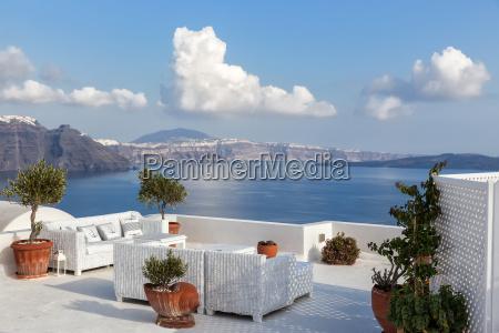 grecia sguardo vista isola