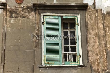 blu dettaglio colore finestra marrone nuovo