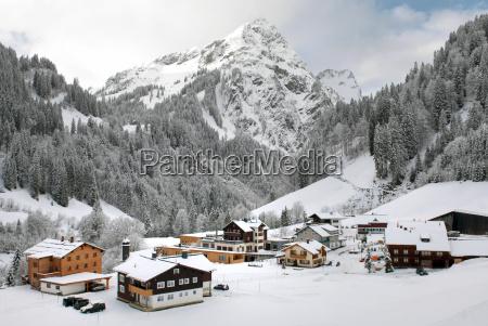villaggio alpino austria
