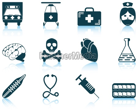 set of medical icon
