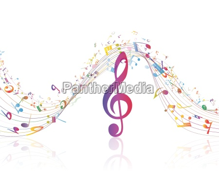 chiave musicale con riga note