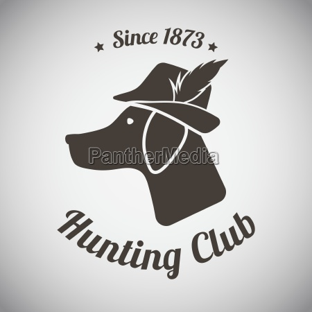 emblema di caccia