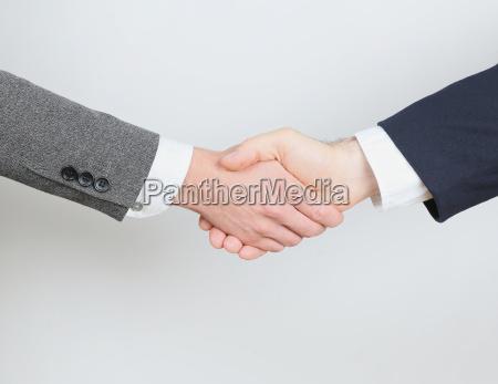 stretta di mano aziendale