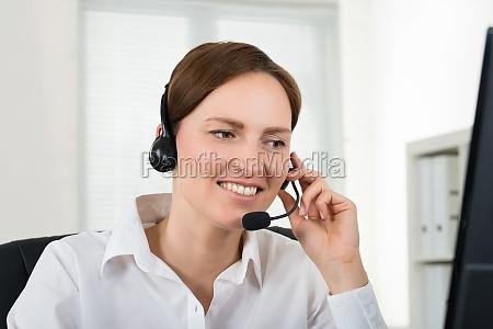 telefono ufficio femminile affare affari lavoro