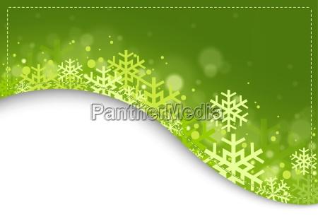 sfondo verde natale