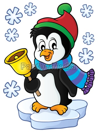 christmas penguin topic image 1