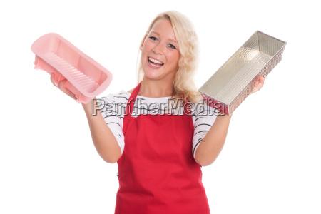 donna differenza infornare forma per torte