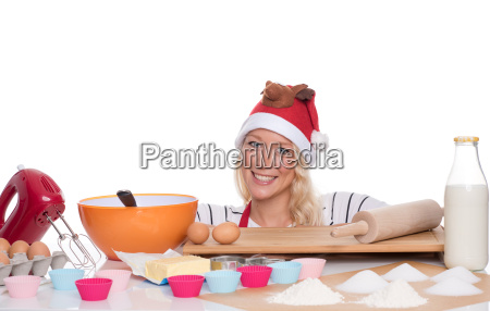 ingredienti infornare biscotti di natale panettiera