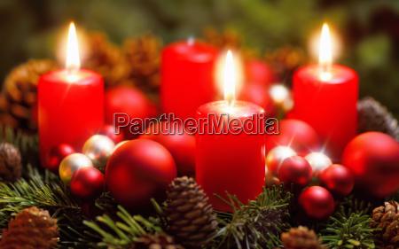 luce candela avvento festa suggestivo di
