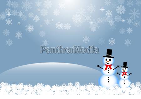 vacanza illustrazione natale fiocco di neve