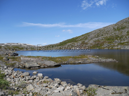 scandinavia acqua dolce lago acqua norvegia