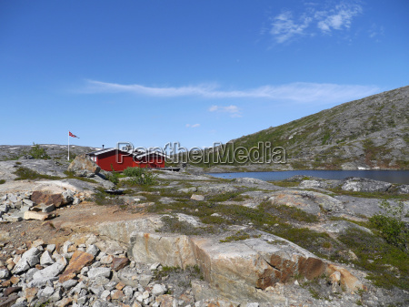 casa in legno circolo polare norvegia