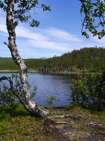 acqua dolce lago acqua norvegia del