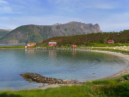 casa in legno norvegia costa fiordo