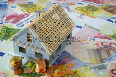 casa costruzione fondi pensione banconote finanziamento