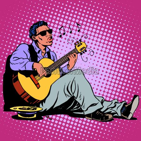 persone popolare uomo umano citta musica