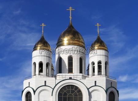 fede chiesa cattedrale nuovo edificio dorato