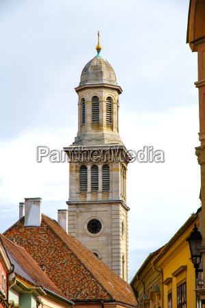 historic church in sopron