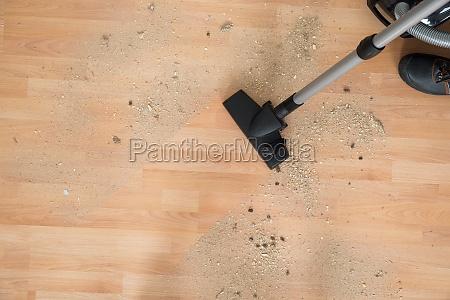 custode bidello pulito di legno pulire