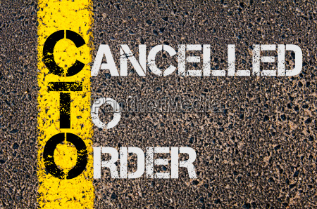business acronym cto as cancelled to