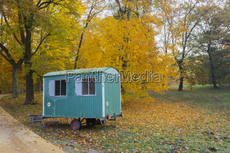 mobile home park in