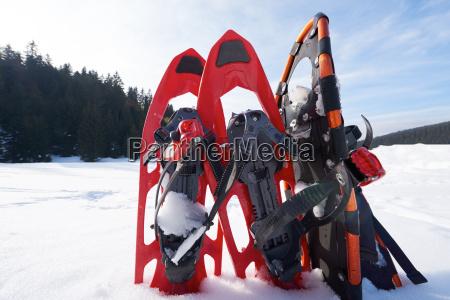 le racchette da neve invernali
