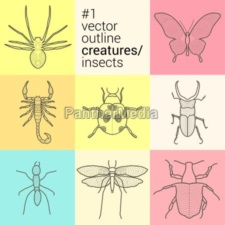 oggetto arte rilasciato grafico insetto formica