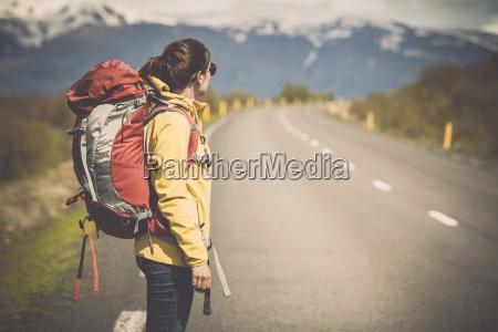 backpacker turista