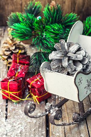 vacanza nuovo ornamento festa decorazione natale