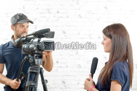 donna persone popolare uomo umano intervista