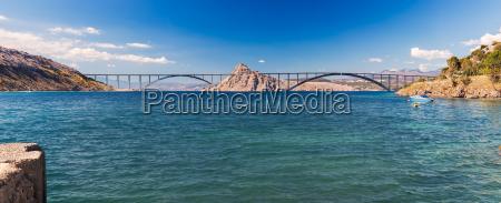 ponte sguardo vista adriatico croazia colmare