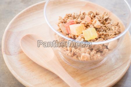 grano cibo pasto fatto in casa