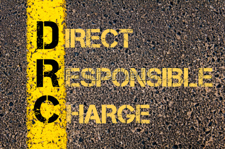 business acronym drc as direct responsible