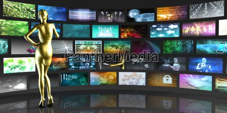 visualizzazioni video display