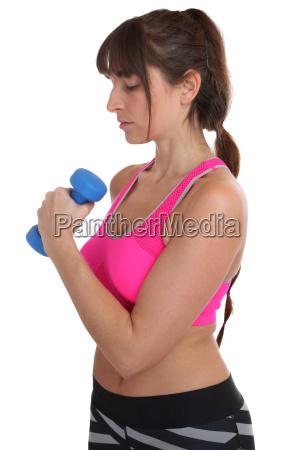 donna sport dello sport concentrazione formazione