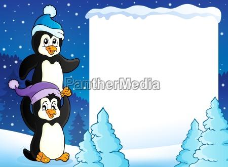 composizione animale uccello animali pinguini uccelli