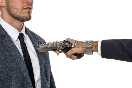 put gun to my head