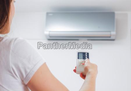 regolazione del climatizzatore