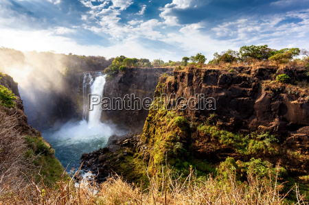 africa cascata zimbabwe cadute