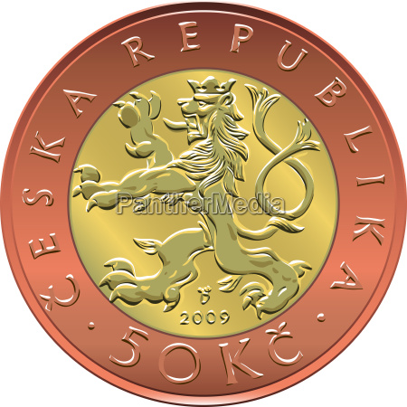 vettore oro denaro moneta da cinquanta