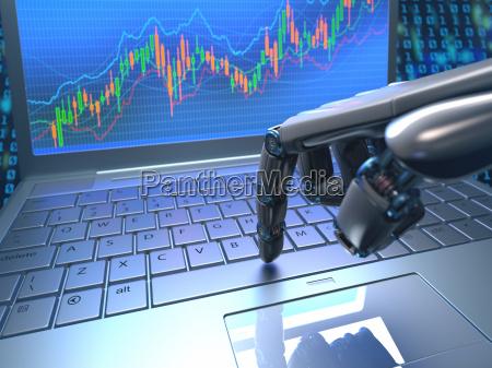 mercato azionario robot trading
